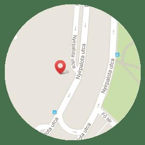 Térkép - Zsuzsa egészségmegőrző masszázs Újpalotán